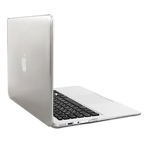 "kwmobile Laptop Hülle kompatibel mit Apple MacBook Air 13\"" (2011-Mitte 2018) - Notebook Schutzhülle Cover Case Transparent"