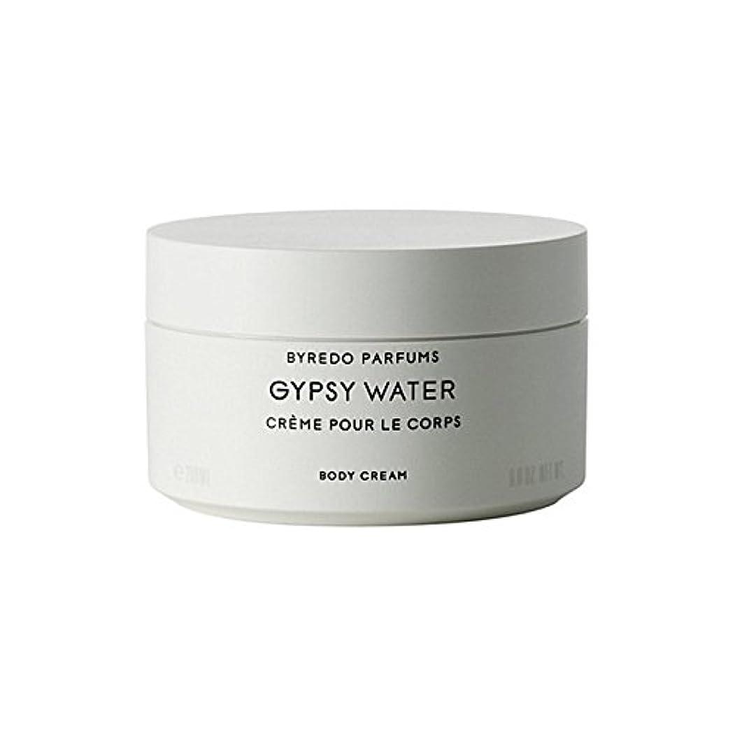 受け皿バルセロナ眉をひそめるByredo Gypsy Water Body Cream 200ml - ジプシー水ボディクリーム200ミリリットル [並行輸入品]