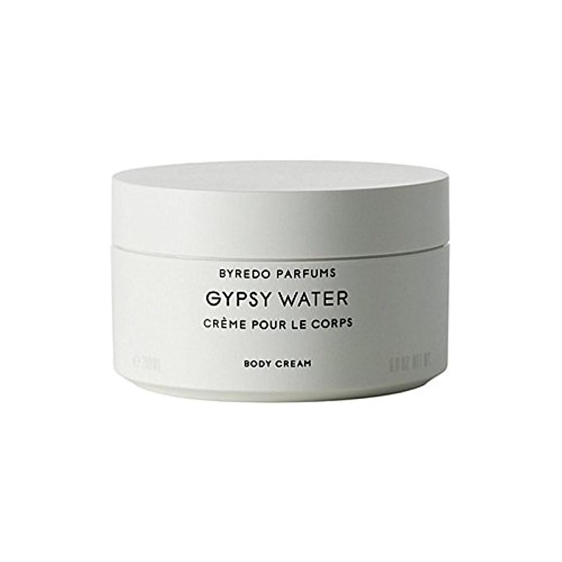 ありがたいぜいたく達成可能ジプシー水ボディクリーム200ミリリットル x4 - Byredo Gypsy Water Body Cream 200ml (Pack of 4) [並行輸入品]