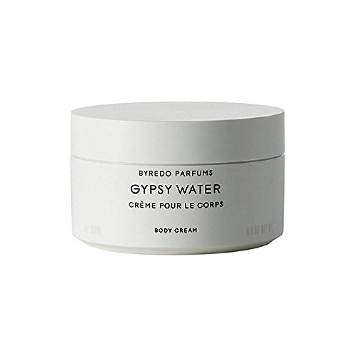 引退するビリーヤギ人気ジプシー水ボディクリーム200ミリリットル x4 - Byredo Gypsy Water Body Cream 200ml (Pack of 4) [並行輸入品]