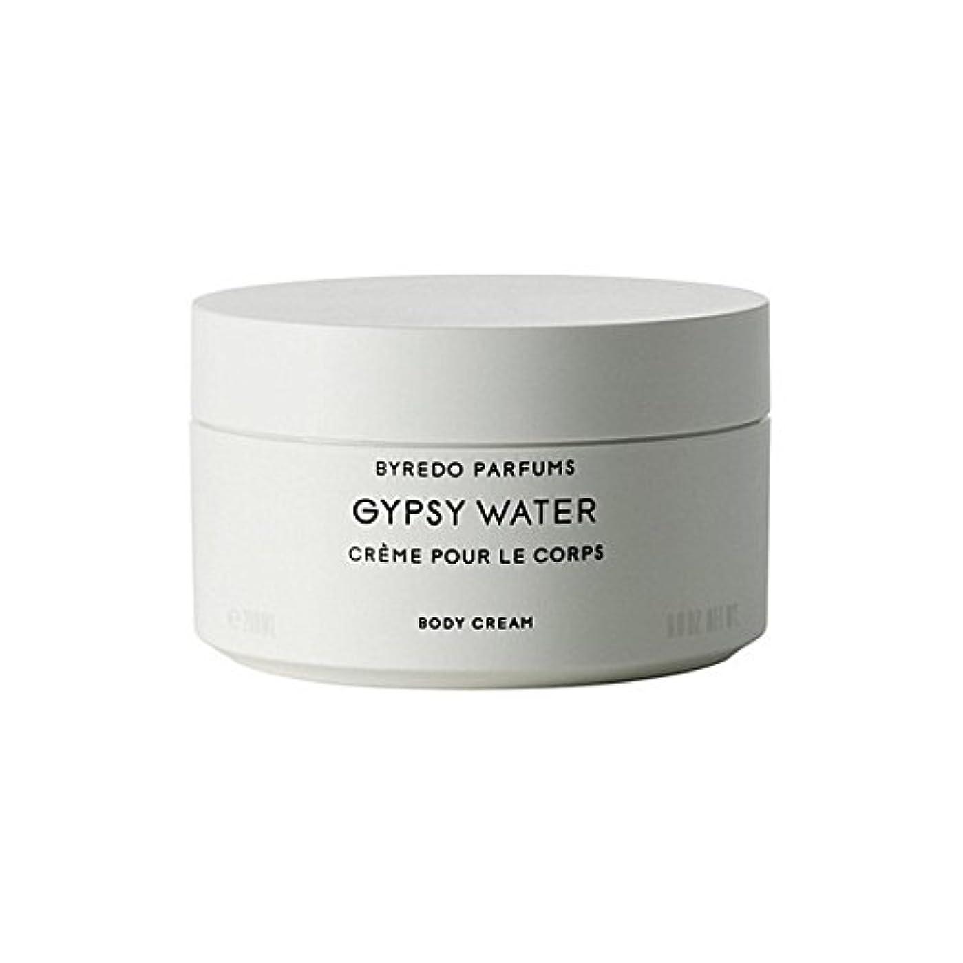 続編南東切り離すジプシー水ボディクリーム200ミリリットル x4 - Byredo Gypsy Water Body Cream 200ml (Pack of 4) [並行輸入品]