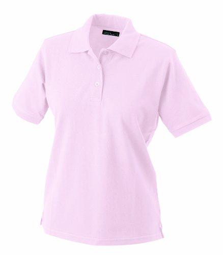 James & Nicholson Damen Ladies\' Polo Poloshirt, Rosa (rosa), Large