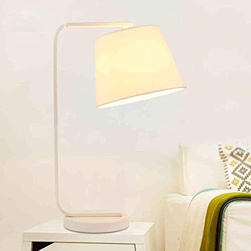 WEI-LUONG Lámparas de Mesa, de Personalidad Luces de la Oficina de Escritorio Simple nórdica Sala lámpara Decorativa, S Lámpara de Lectura de cabecera, S Lectura la Noche la luz LED