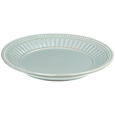 Lenox French Perle Everything Plate, Ice Blue