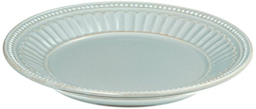 Lenox Ice Blue French Perle Groove Dessert Plate, 0.90 LB