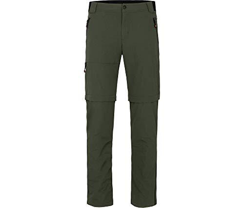 Bergson Herren Zipp-Off Hose ARRESÖ Comfort, Kombu Green [279], 48 - Herren