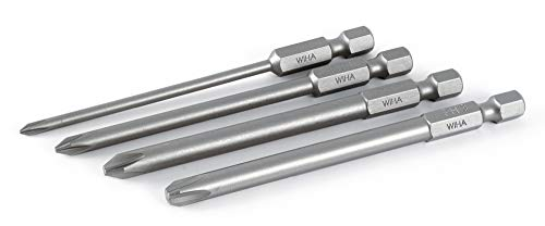 Wiha 76094   4 Piece Phillips Power Blade Set