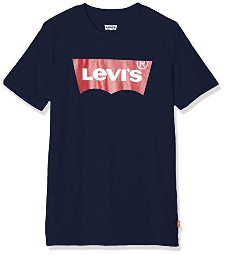 Levi's Kids Lvb Batwing Tee T-Shirt - Jungen Dress Blues 8 Jahre
