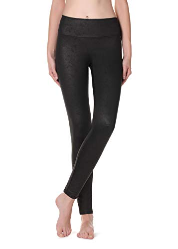Calzedonia Damen Total-Shaping-Thermoleggings mit Ledereffekt