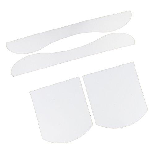 Toygogo Antirutsch Sandpapier/Schleifpapier Für Skateboard Longboard (2 X - Transparent