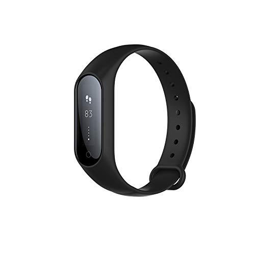 LBAFS Fitness Tracker Bluetooth Wasserdicht Smart Armband mit Herzfrequenz Blutdruck Schlaf Monitor Schrittzähler Beste Gift,Black