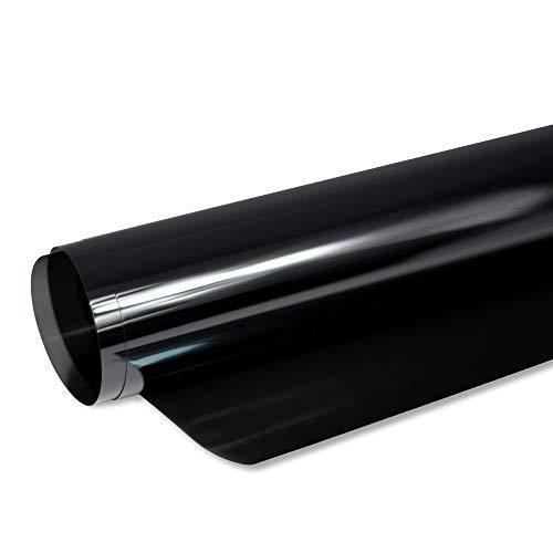Solar Screen® 6,67€/m² BLACK PLUS Scheibentönungsfolie 95 C Tönungsfolie für Auto Scheiben 95% Schwarz | 101 cm Breite inkl. ABG Auto-Tönungsfolie