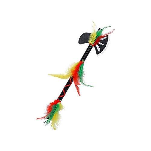 WIDMANN Srl Tomahawk Indiano Accessori per Adulti, Multicolore, WDM69865