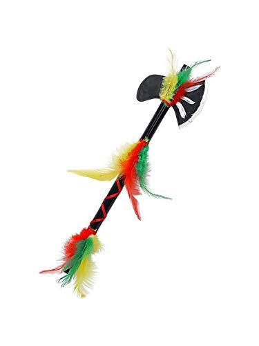 Widmann 69865 Indianen Tomahawk Unisex – volwassenen meerkleurig