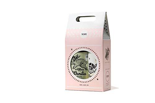 Yope Vanille und Zimt Geschenkset (Körperbalsam,200ml+Seife,400ml), 800 ml