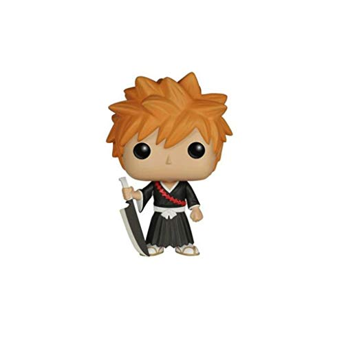 Gogowin POP Animtion : Bleach - Ichigo 3.75inch Vinyl Gift for Anime Fans (Without Box) Chibi Figure