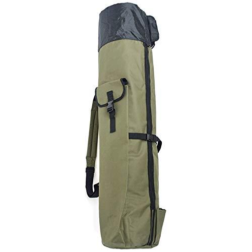 Huante - Bolsa para caña de pescar, carrete de pesca, bolsa de almacenamiento, bolsa de transporte plegable para aparejos de pesca