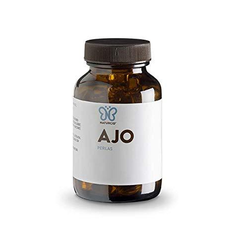 Perlas Ajo - Naturcid - Perlas - [100 perlas - 692mg] - Complemento alimenticio a base de aceite de ajo macerado.