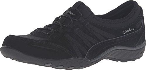 Skechers Skechers Damen Relaxed Fit: Breathe Easy - Moneybag Sneaker, Black , 40 EU