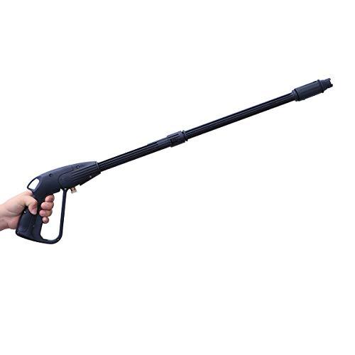 ZHQHYQHHX Autowaschwasserpistole Erweiterte Autowaschpistole Hochdruckreiniger for Autowaschanlagen Garten Wasserpistole Sprayer Bewässerung Werkzeug-Wasch Werkzeuge Autozubehör