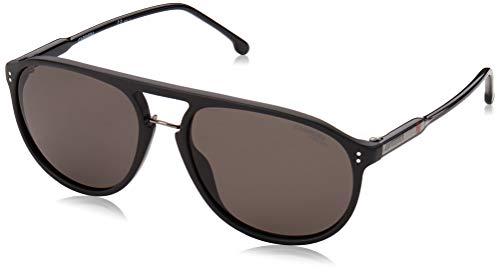 Carrera 212/S Sunglasses, MTT Black, 58 Unisex-Adult
