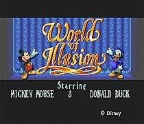 World Of Illusion Starring Mickey Mouse & Donald Duck 16 Bit Md Game Card For Sega Mega Drive For Sega Genesis