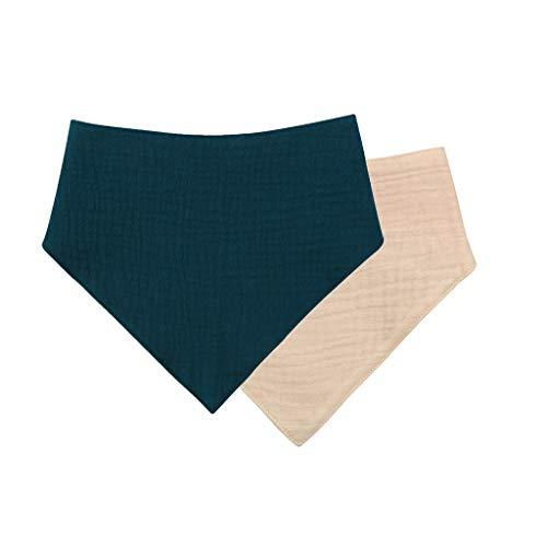 ZZALLL Babero de algodón para bebé Born Triangle Bufanda Toalla de alimentación de Saliva Bandana Burp Cloth - S009#