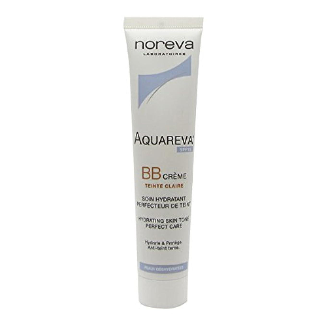 ステップ柱コーヒーNoreva Aquareva Bb Cream Clraire Spf15 40ml [並行輸入品]