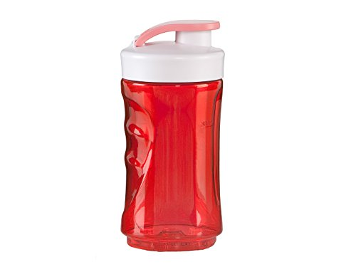Domo do434bl-bk Flasche Kunststoff rot 7,5x 7,5x 16,5cm 300ml