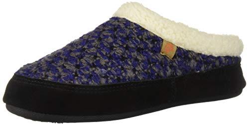 Acorn Women's Jam Mule Slipper, Blueberry, Large (8-9)