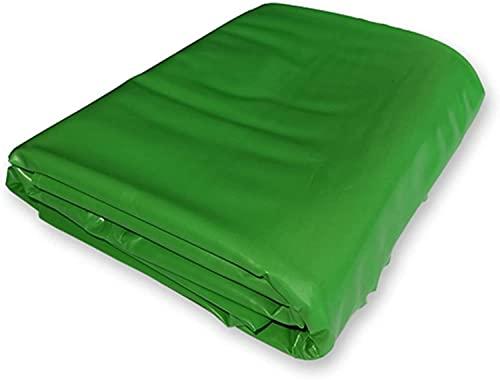 PLMOKN Voorgevormde vijvervoeringen Heavy Duty Plastic Tarpaulin Cover Sheet Tuin Zwembad Membraan Waterdicht -UV voor Koi Ponds, Watertuinen, Fonteinen (Kleur: Groen, Grootte: 4x5m)