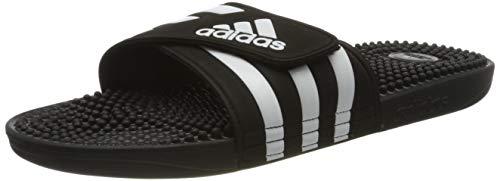 adidas Unisex-Adult Adissage Sandal, Core Black/Cloud White/Core Black, 48 EU