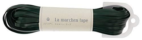 メルヘンアート ラ メルヘン・テープ 5mm 150g 約30m Col.144 フェイクレザーグリーン 1玉