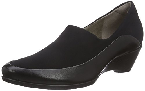 ECCO Damen Sculptured 45 W Pantoletten, Schwarz (Black/Black 51707), 40