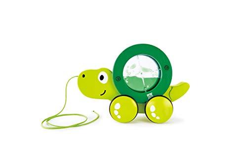 Hape E0354 Nachziehschildkröte Tito Spielzeug