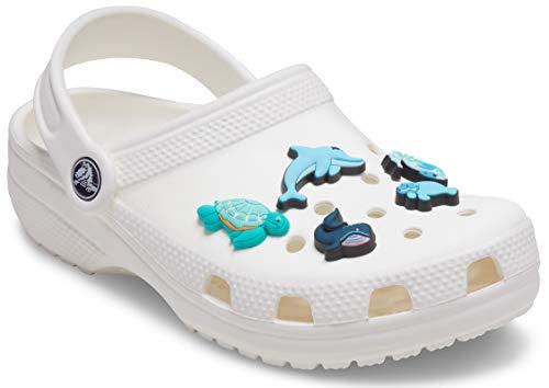 Crocs Sea Animals 5 Pack, Encantos para zapatos Unisex Adulto, multicolor, Talla única