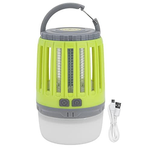 Luz para Insectos, Repelente De Mosquitos, Carga USB, Portátil, Silencioso para Oficina, Jardín, Camping, Tienda De Campaña para Dormitorio Familiar, Sala De Estar, Cocina