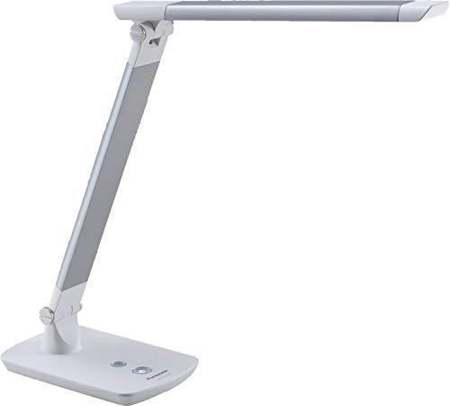 パナソニック LEDデスクライト 置き型 文字くっきり光 折り畳み可 昼光色 調光機能付 ライトグレー SQ-LD310-W