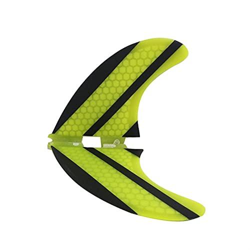 Cubierta de calcetín de tabla de surf Ligero Surfing Honeycomb Tail Fin Surfboard Accessories K2.1 Tail Towder Fin Vidrio Fibra Fibra Fin Multi-Piece Bolsas de transporte para exteriores