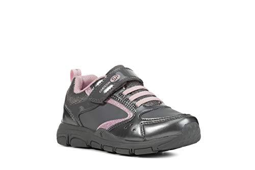 Geox Laufschuhe Mädchen, Farbe Grau, Marke, Modell Laufschuhe Mädchen J928HA Grau