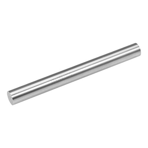 uxcell Round Steel Rod, 15mm HSS Lathe Bar Stock Tool 150mm Long, for Shaft Gear Drill Lathes Boring Machine Turning Miniature Axle, Cylindrical Pin DIY Craft Tool