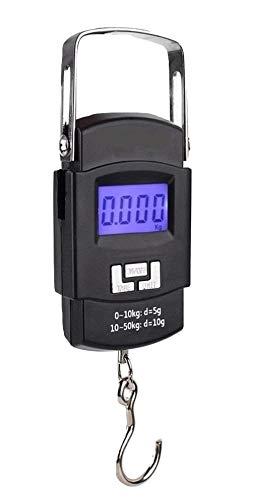 L&L Digital Luggage Scales 50KG LBS OZ Handheld Fishing Weighing Travel Suitcase