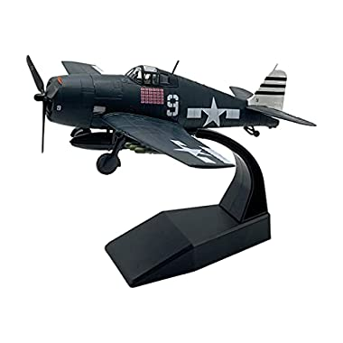 Newmind Diecast 1:72 Scale WWII F6F Fighter Model Airplane Souvenir Collections Desktop Decoration Ornament Kids Toys