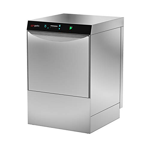 Geschirrspülmaschine Gastronomie 4,9 kW - Ohne Laugenpumpe - Mit Reinigerpumpe (Doppelwandig)