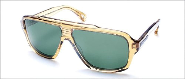 Dita Sunglasses Carbine 19005DBRN58.5 Vintage Brown Crystal Frame G15 w AR Lenses