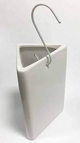3x Heizkörper Luftbefeuchter | Wasser Verdampfer Heizung | Verdunster Wasserverdunster Keramik weiß | Raumbefeuchter