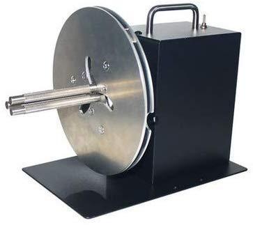 Automatischer Etiketten-Aufroller – 2-Wege-1-7,6 cm einstellbare Kerngröße, Rückspulmaschine für Wasserzeichen/Barcode-Aufkleber, Kleidungsmarken-Drucker (R7,185 mm)