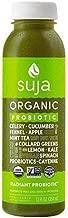 Suja Organic Essentials Radiant Probiotic Vegetable & Fruit Juice 12 ounce (Pack of 6)