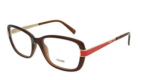 FENDI 1038 209 RX gafas, gafas, gafas, marcos y funda 52 mm