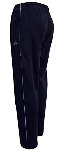 Sockenhimmel Jogginghose Herren Thermohose Fleece gefüttert warme Sweathose SporthoseGummibund M - 3XL (3XL, Marine)